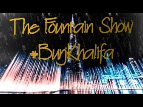 Burj Khalifa Fountain Show | 2019 Evening | Dubai | UAE – Things to do in Dubai