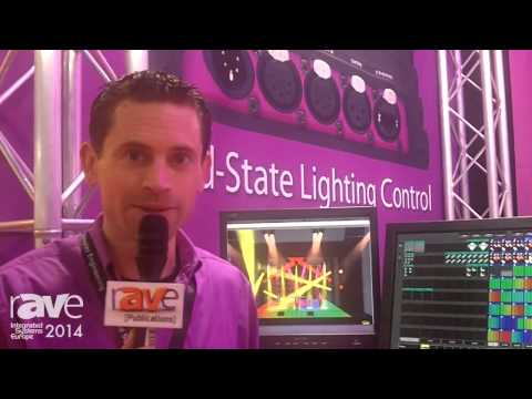 ISE 2014: Visual Productions Introduces CUELUX PRO Professional Lighting Control Software