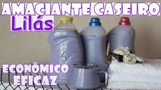 SUPER AMACIANTE CASEIRO CONCENTRADO (Lilás) – Roupas macias e perfumadas