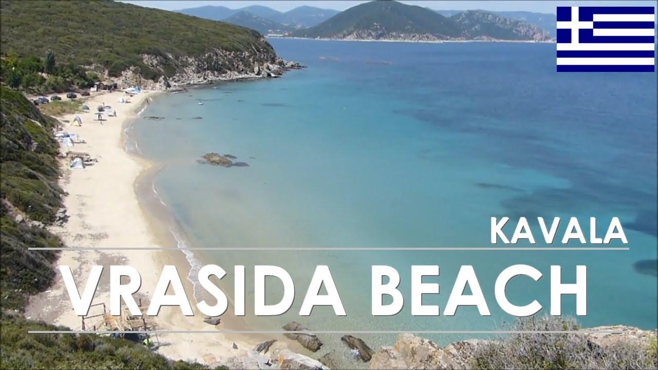 Vrasida Beach Kavala Greece