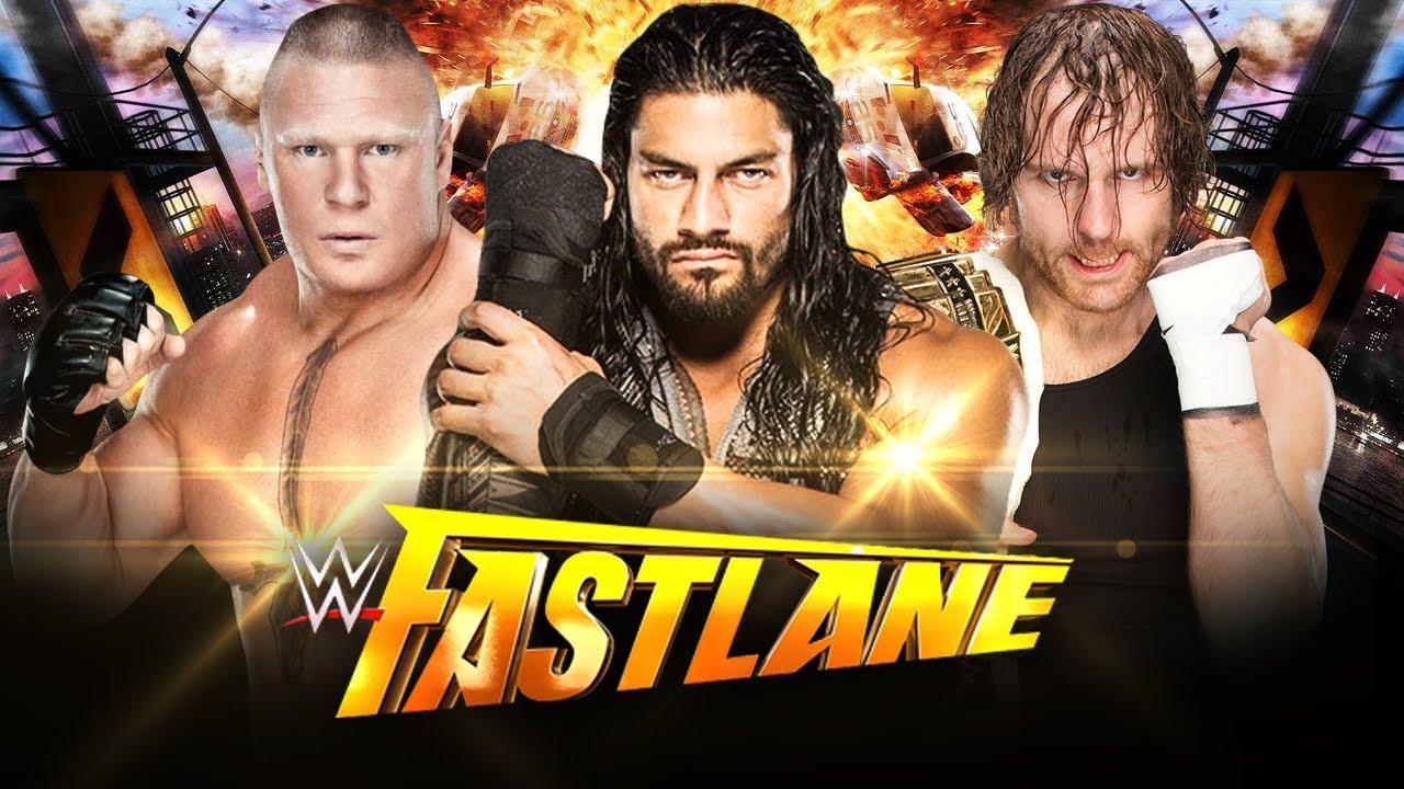 WWE Discussion: Fastlane Triple Threat Match Winner - YouTube