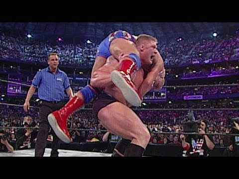 Brock Lesnar vs. Kurt Angle: WrestleMania...
