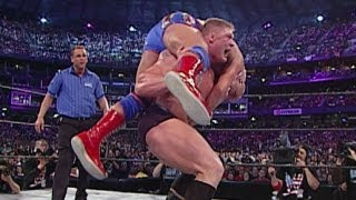 Brock Lesnar vs. Kurt Angle: WrestleMania XIX