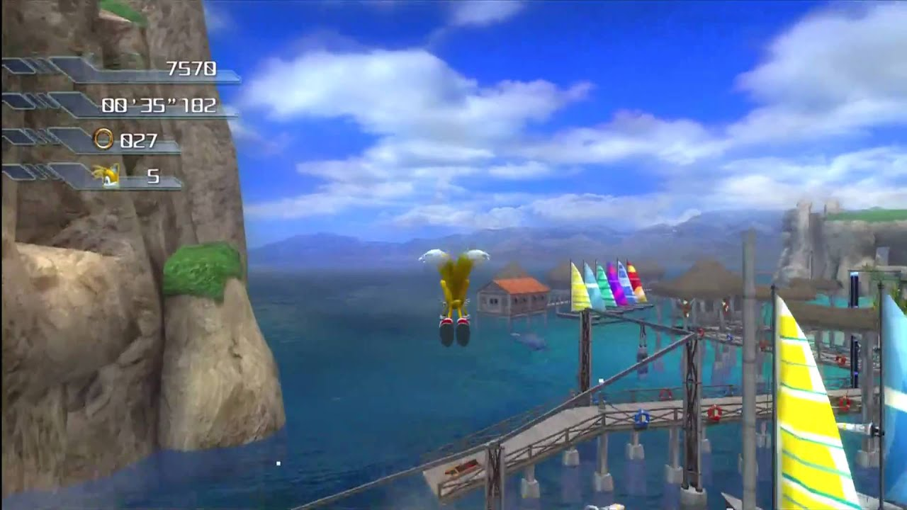 Sonic The Hedgehog 2006 Wave Ocean Tails 1080 Hd