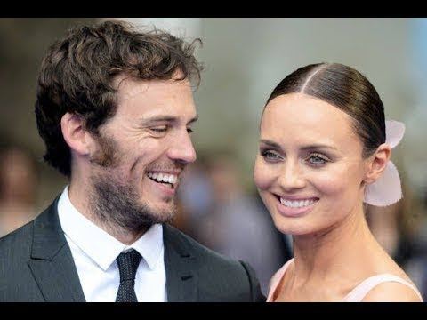 Sam Claflin & Laura Haddock. Family his parents, brothers, wife