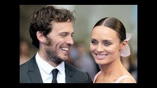 Sam Claflin & Laura Haddock. Family (his parents, brothers, wife)