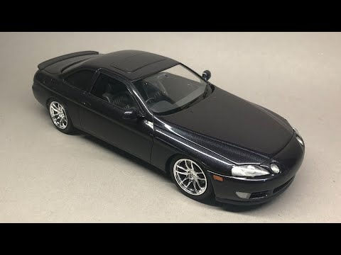Fujimi: Toyota Soarer Full Build Step by Step