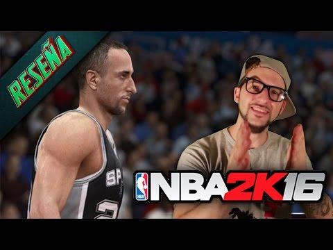 RESEÑA NBA 2K16: ¿El mejor juego de basket de la historia? [Juanito Say]