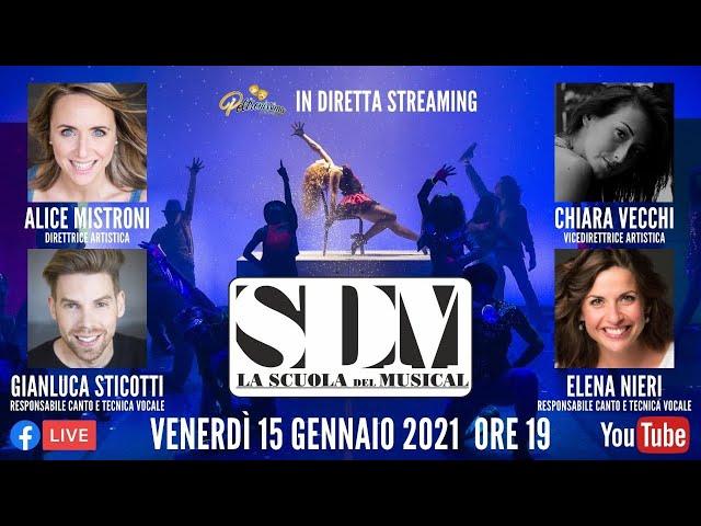15.01.2021 - SDM - La Scuola del Musical - Ospiti: A. Mistroni, C. Vecchi, G. Sticotti e E. Nieri