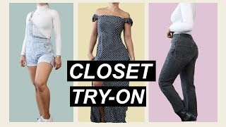 Trying On Everything In My Closet   MeganBatoon