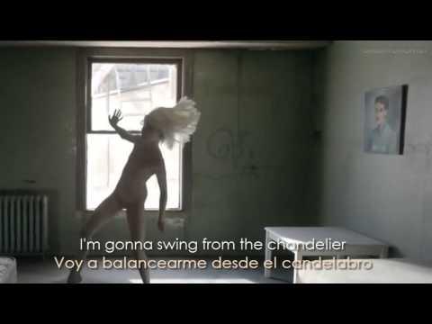 Sia ~ Chandelier (Lyrics Sub. Spanish/Español) [HD] Official Video
