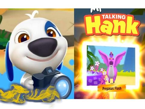 МОЙ ГОВОРЯЩИЙ ХЭНК #47 Говорящий Том и Анджела - мультик игра  видео для детей # УШАСТИК KIDS