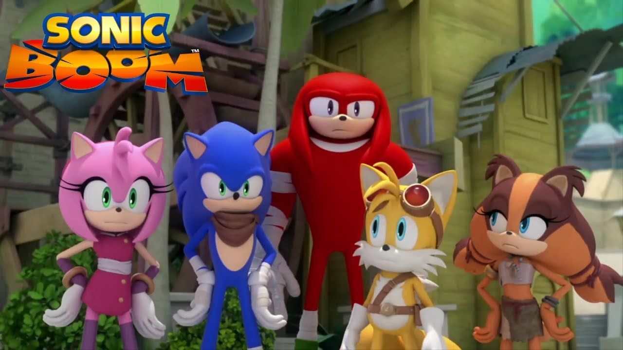 Sonic boom les z 39 amis dessin anim youtube - Boom dessin anime ...