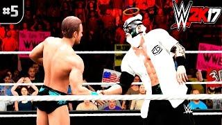 QUEM É O MEU PARCEIRO TAG TEAM? | #5 | WWE 2K17 #DjLives