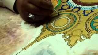 Thuluth thin calligraphy By World famous calligraphist Khurshid Gohar Qalam