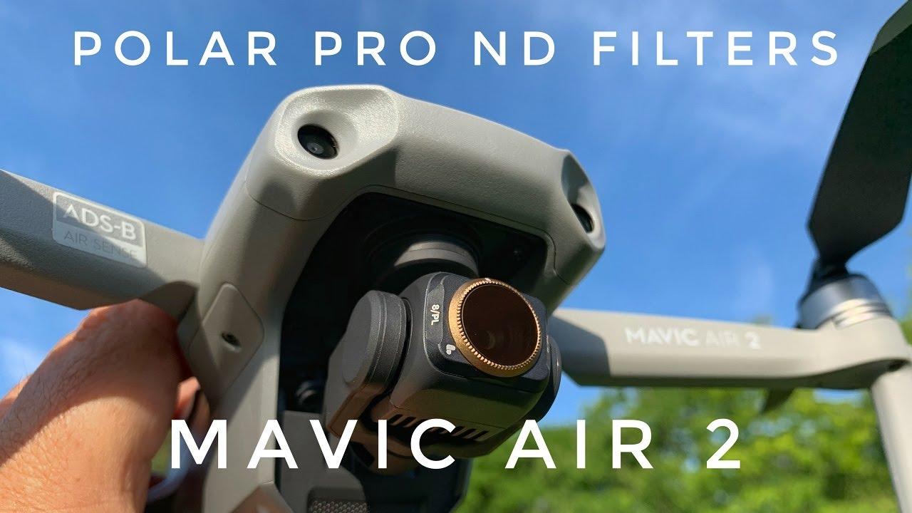 Polarpro Nd Filters For Dji Mavic Air 2 Sample Footage Youtube
