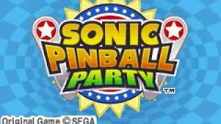 Game Boy Advance Longplay [101] Sonic Pinball Party