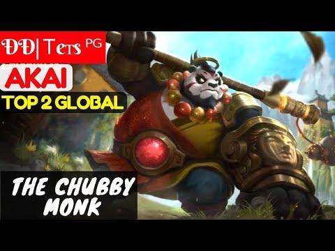 The Chubby Monk [Top 2 Global Akai] | ÐÐ| Ꭲeтs ᴾᴳ Akai Gameplay and Build #1 Mobile Legends