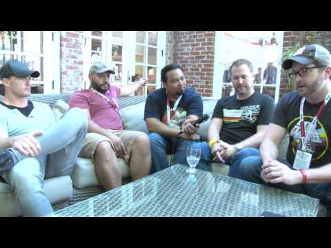 Interview with Matt Hullum, Burnie Burns, Colton Dunn, and Alan Ritchson of Lazer Team at SDCC 2015