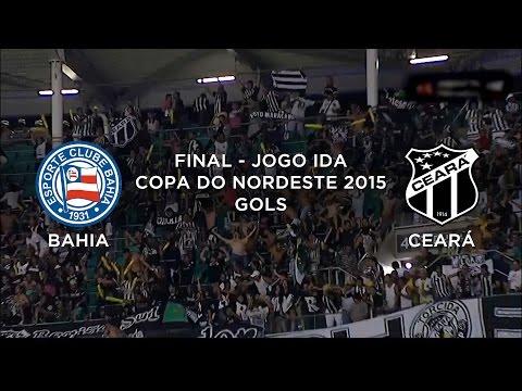 Gol - Bahia 0 x 1 Ceará - Copa do Nordeste - 22/04/2015