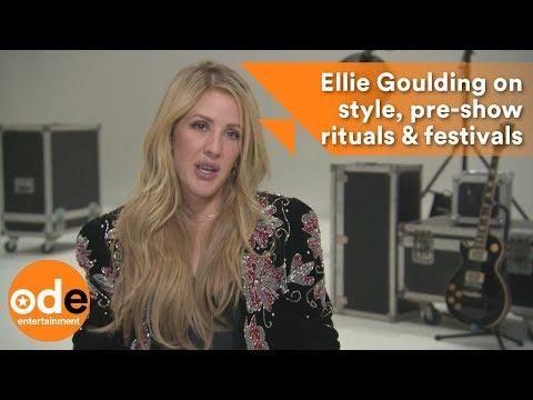 Ellie Goulding on style, pre-show rituals & festivals