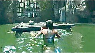 Rise of The Tomb Raider-Raise Water (Moving Raft) Walkthrough