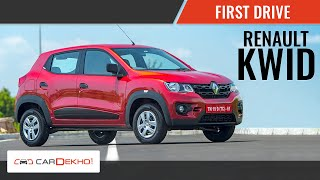 Renault KWID First Drive Review | Cardekho.com