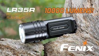 Fenix LR35R Rechargeable Flashlight - 10000 Lumens!!