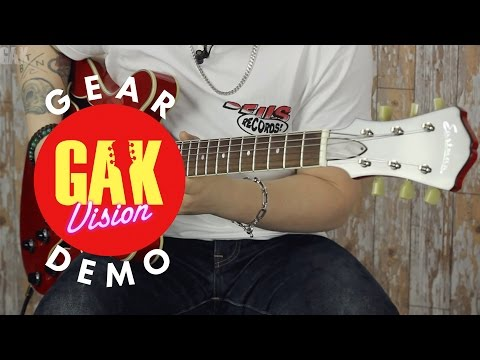GAK DEMO : Eastman T386 Center Block Thinline, Red
