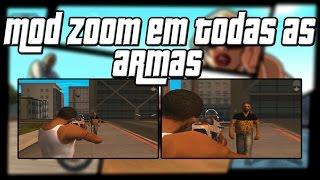 GTA SA Mod Zoom nas Armas 1080p HD