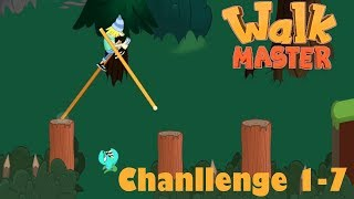 Walk Master Walkthrough Challenge Level 1-7