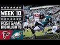Falcons vs. Eagles | NFL Week 10 Game Highlights