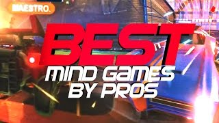 BEST ROCKET LEAGUE MIND GAMES BY PROS (FAKES, OUTPLAYS, DEMOLITION PLAYS)