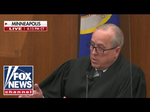 Judge in Chauvin case slams Maxine Watters' comments; 'The Five' reacts