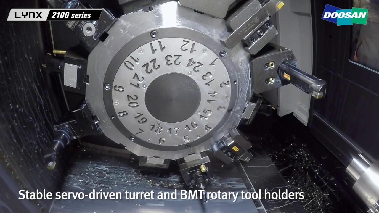 Doosan Lynx 2100 - Mills CNC