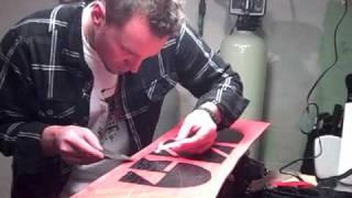 Tuning a Snowboard: Part II - Base Prep and Repair