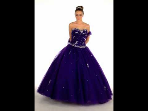 Military & Debutante Ball Gown | Gorgeous Quinceanera Dress - YouTube