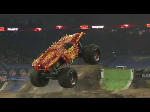 Max-D Fire's Tom Meents Freestyle - Houston│Monster Jam 2019