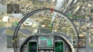 HAWX FA-18E Super Hornet gameplay