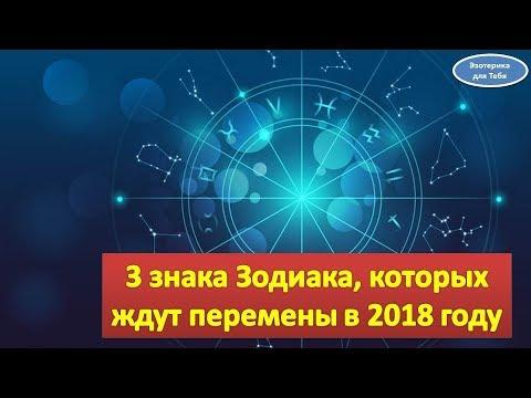 Знаки зодиака 2018 года изменения