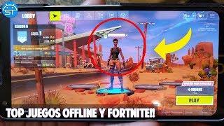 Top Juegos Offline y Online Nuevos para Android, FORTNITE ANDROID ya DISPONIBLE para Todos?