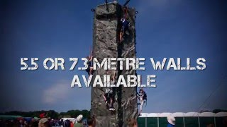 Mobile Climbing Walls from The Warehouse