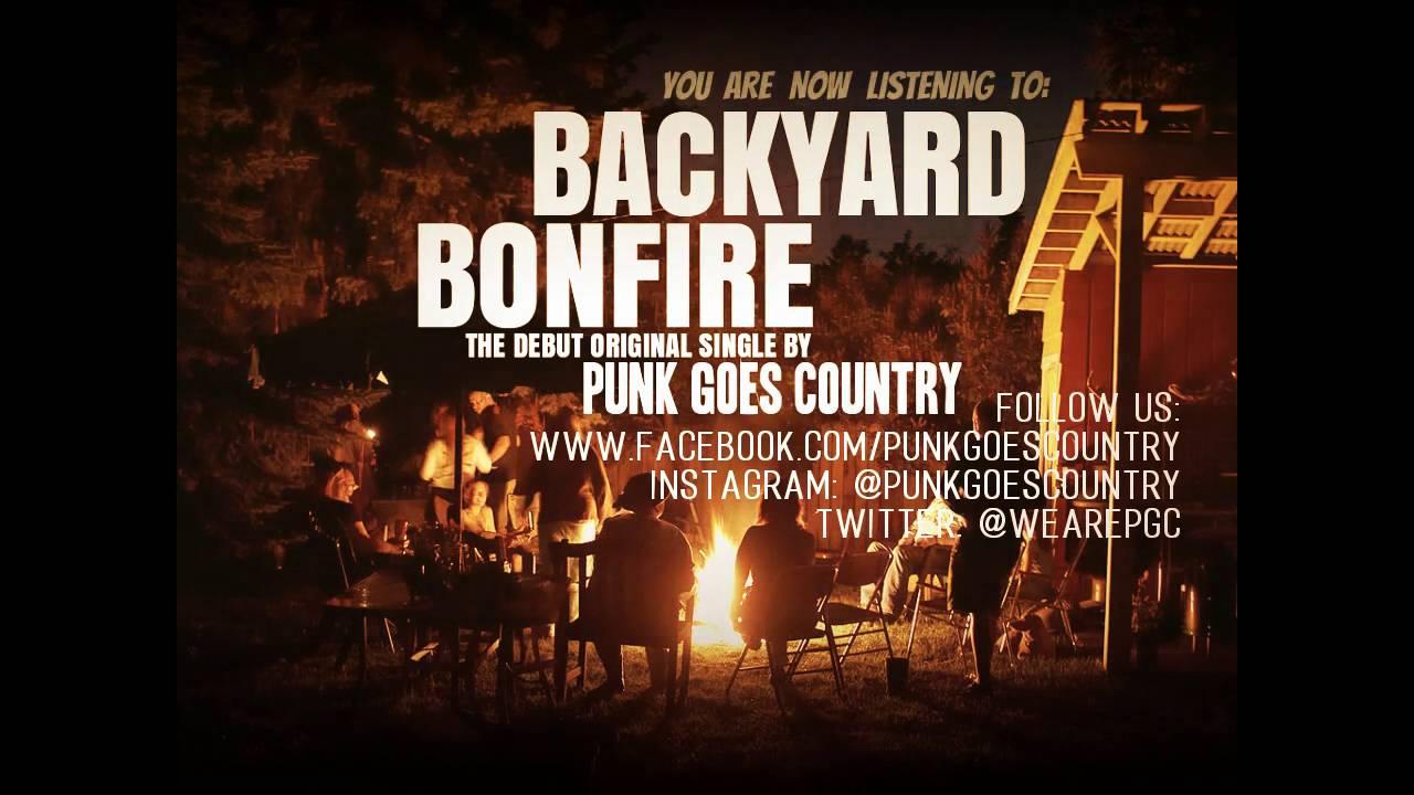 Backyard Bonfire - Punk Goes Country - YouTube