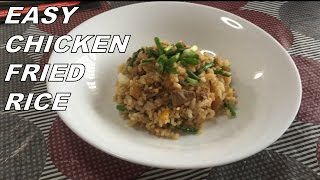 Easy Recipe: Quick And Easy Chicken Fried Rice
