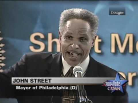 Democratic Presidential Candidates Forum 2004 in Philly