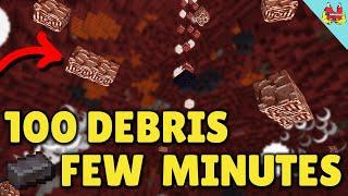 SIMPLE & BEST Way to Find Netherite/Ancient Debris in Minecraft 1 16 - Minecraft Tutorial
