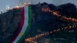 شاهد: مشاهد ساحرة لنيران