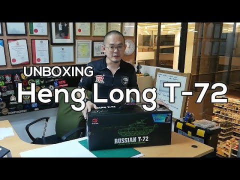 Unboxing the new Heng Long 1/16th scale T-72 RC Tank