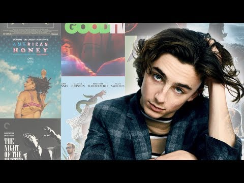 timothée chalamet talking about movies for 17 minutes (compilation)