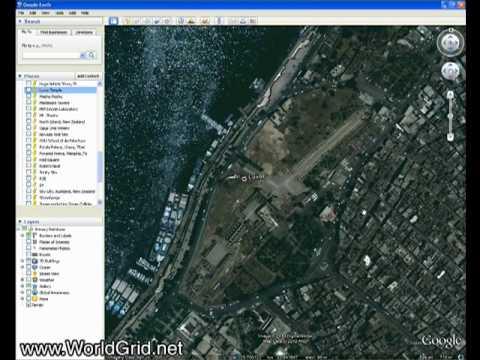 Plot World Grid in Gridpoint Atlas, View in Google Earth